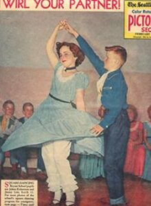 Skip to My Lou partnerdans fra 1840